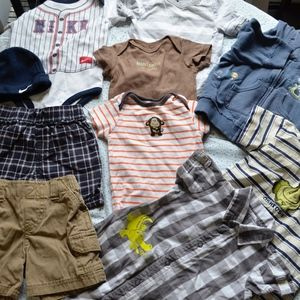 Baby Boys Bargain Lot of Play Clothes